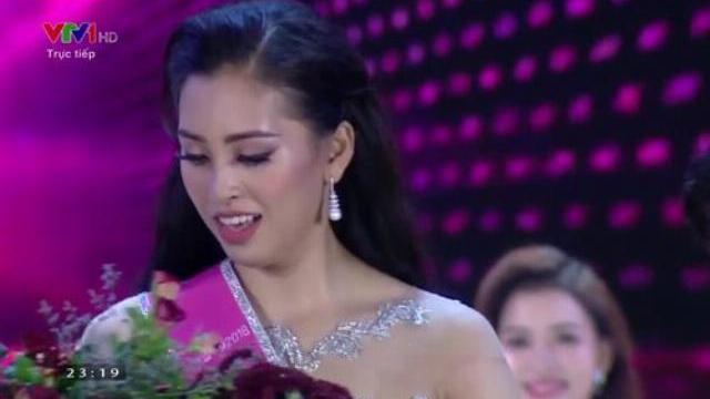 Phần thi ứng xử của Hoa Hậu Việt Nam 2018 Trần Tiểu Vy