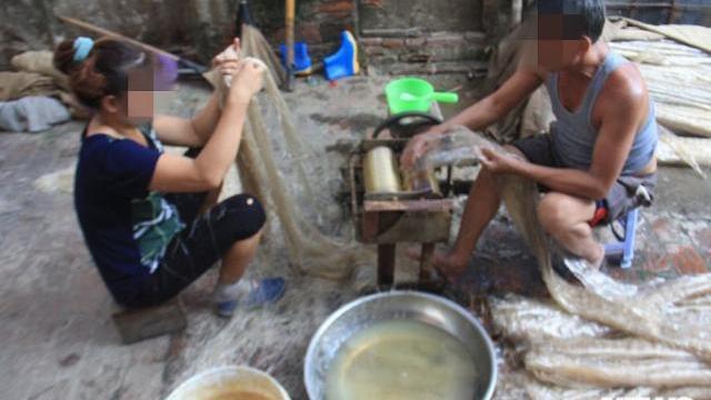 Đặc sản miến Cự Đà rửa bằng nước mương đen ngòm