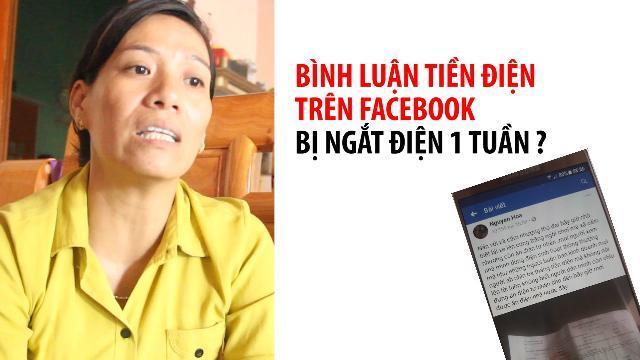 Dân bị cắt điện chỉ vì bình luận trên Facebook