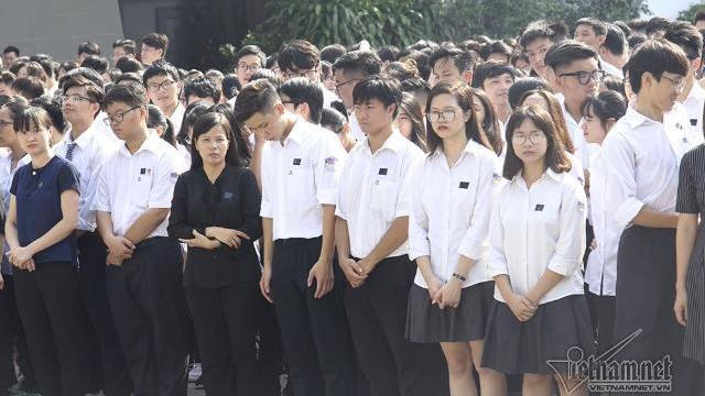 Điều đặc biệt ở đoàn 800 người vào viếng Chủ tịch nước Trần Đại Quang