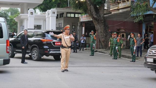 Thắt chặt an ninh tang lễ Chủ tịch nước Trần Đại Quang