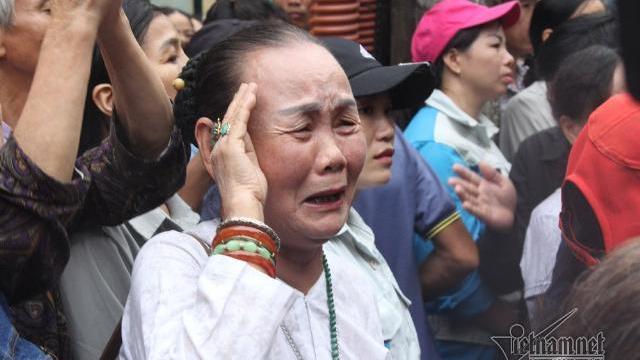 Nghìn người đội mưa thương tiễn Chủ tịch nước Trần Đại Quang