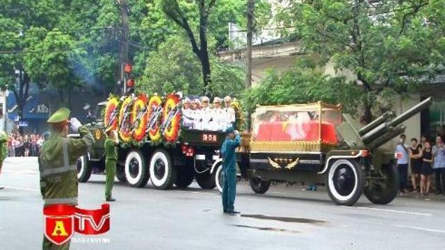 Đảm bảo an ninh trật tự Lễ Quốc tang Chủ tịch nước Trần Đại Quang