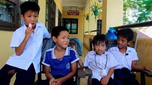 Học sinh lớp 4 dũng cảm cứu 3 bạn đuối nước giữa sông