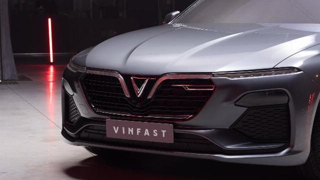 Lộ diện thiết kế ngoại thất chính thức của xe VinFast