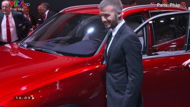David Beckham liên tục khen ô tô do Việt Nam sản xuất
