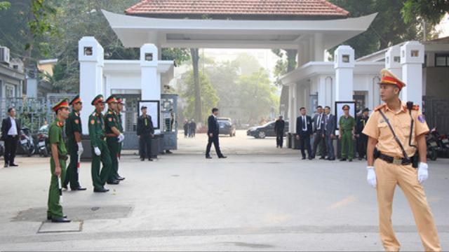 Công an Hà Nội lập hai vòng an ninh Quốc tang cố Tổng bí thư Đỗ Mười