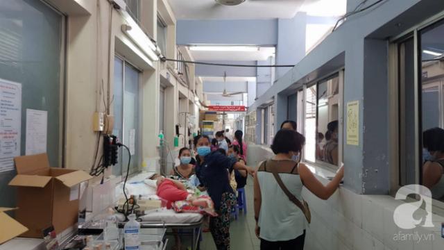 Quá tải vì dịch tay chân miệng, bệnh viện dùng căn tin làm phòng bệnh