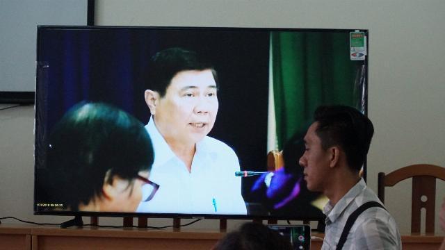Chủ tịch TP.HCM đối thoại với người dân Thủ Thiêm