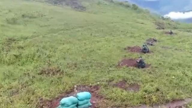 Bộ đội biên phòng diễn tập nổ súng giành lại biên giới