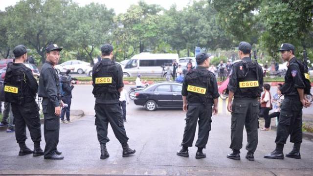 500 cảnh sát thắt chặt an ninh tại phiên xử đường dây đánh bạc nghìn tỷ