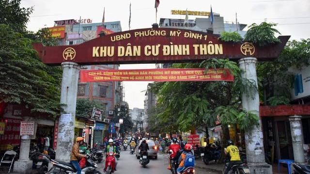 Tuyến phố đồng bộ hoá biển hiệu thứ 2 ở Hà Nội