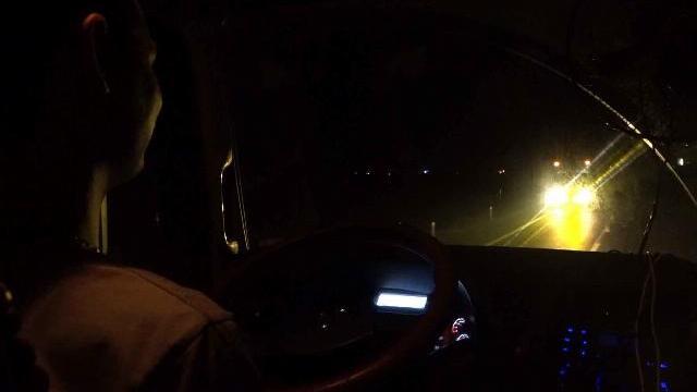 Lái xe container và thứ ma túy giúp tỉnh như sáo 2 ngày 2 đêm