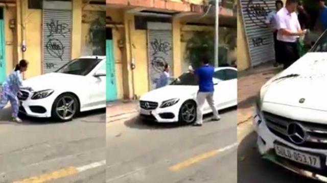Cụ bà Sài Gòn đập phá nát ô tô tiền tỉ vì kính xe phản chiếu vào nhà