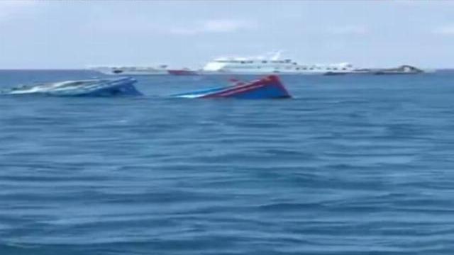 Lời kể của ngư dân Tàu Trung Quốc xịt vòi rồng, ép tàu Việt Nam