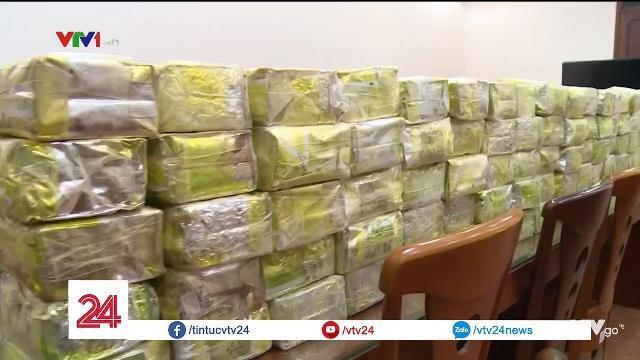 Triệt phá đường dây ma túy buôn 300 kg ma túy đá xuyên quốc gia