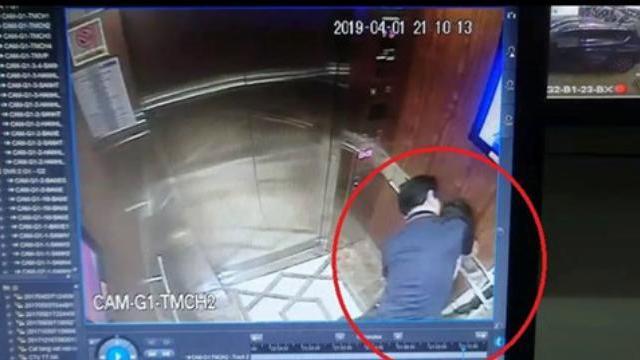 Đã xác định người đàn ông dâm ô bé gái trong thang máy chung cư Q.4