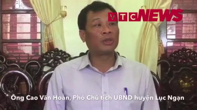 Phó Chủ tịch UBND huyện Lục Ngạn trả lời về việc thực hiện cưỡng chế, thu hồi đất của dân