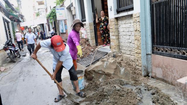 Người dân 8 phường ở quận 3 đồng loạt hiến 'đất vàng' mở rộng hẻm