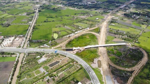 Cao tốc Trung Lương - Mỹ Thuận hiện đã hoàn thành khoảng 27%
