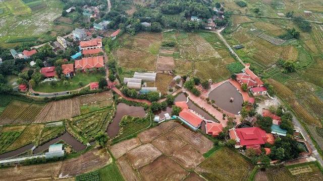 Biệt phủ, trang trại được sư Toàn xây dựng bên cạnh chùa Nga Hoàng