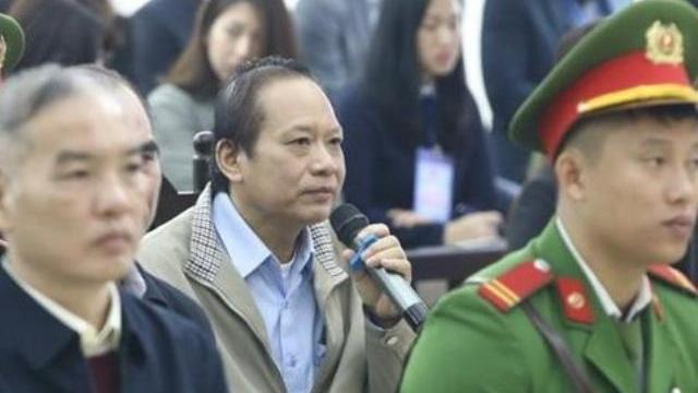 Bị cáo Trương Minh Tuấn khai 'bộ trưởng Nguyễn Bắc Son chỉ đạo ký quyết định'