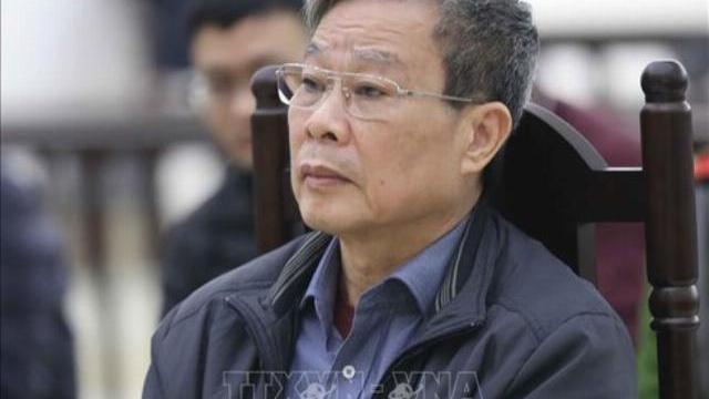 VKS đề nghị tử hình cựu Bộ trưởng Nguyễn Bắc Son tội 'Nhận hối lộ'