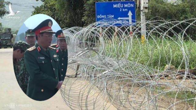 Lãnh đạo cấp cao Bộ Quốc phòng đích thân đến xã Đồng Tâm