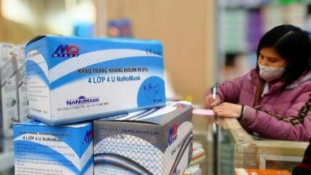 Người dân phản ánh Nhà thuốc Hồng Lan (TP Huế) bán một hộp khẩu trang 50 cái với giá 200.000 đồng