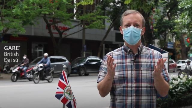 """Đại sứ Anh: """"Chúng ta rất may mắn khi sinh sống và làm việc tại Việt Nam"""""""