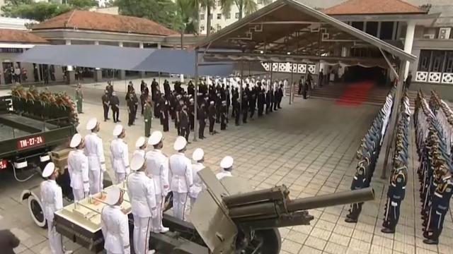 Lễ truy điệu, lễ an táng Nguyên Tổng Bí thư Lê Khả Phiêu