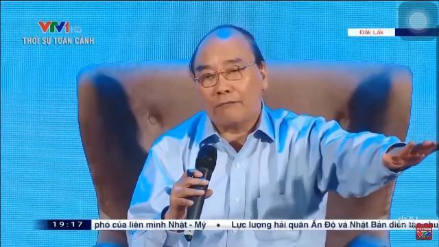 Thủ Tướng Nguyễn Xuân Phúc tham gia đối thoại với nông dân