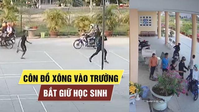 Phẫn nộ với cảnh côn đồ xông vào trường bắt học sinh