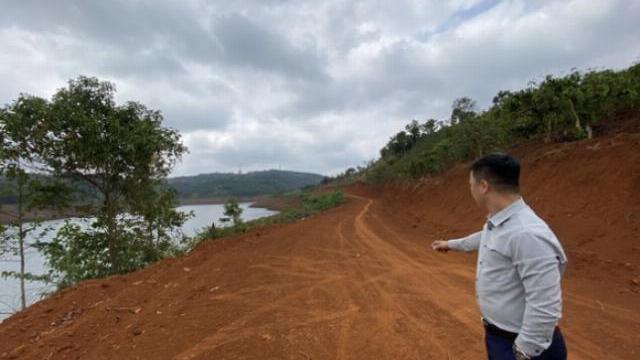 Hơn 5.600m2 rừng phòng hộ thủy điện Đắk R'Tih đã bị hủy hoại