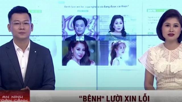 Câu chuyện xin lỗi của các nghệ sĩ Việt như NS Hoài Linh, Nam Thư, Hồng Vân và Ngọc Trinh.