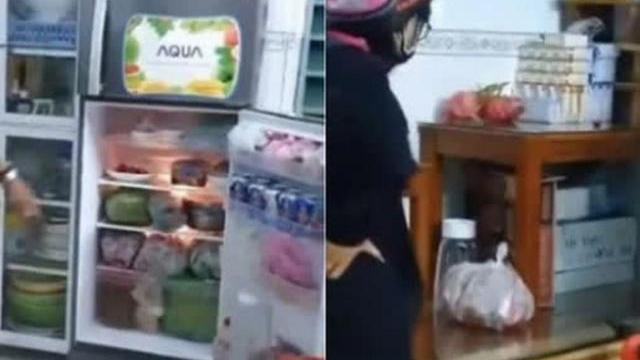 Một gia đình bị phát hiện tủ lạnh ngập đồ ăn, có cả đồ nhậu vẫn gọi xin cứu trợ
