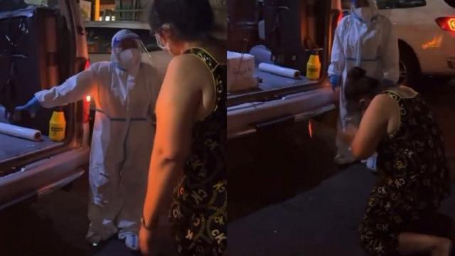 """Trưởng nhóm """"mai táng 0 đồng"""" Giang Kim Cúc livestream về vụ việc bà ngoại rút ống thở cháu bé"""